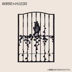 LIXIL ディズニー 面格子 プーさんB型 ブラック W890 【受注生産品】 disneymepb890k|sumai-diy