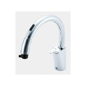 LIXIL キッチン用タッチレス水栓 ナビッシュ 乾電池式B5タイプ SF-NB454SX|sumai-diy