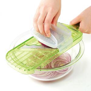 波刃スライサー スーパーキレール キャベツの千切り 極薄スライス 1mm sumairu-com