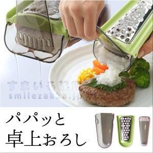 パパッと卓上おろし  おろし金 おろし器|sumairu-com