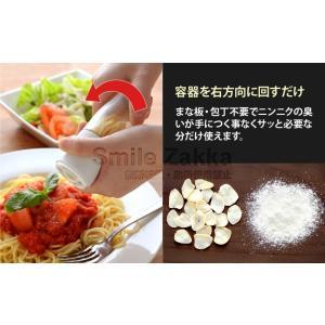 セラミック ガーリックミル 乾燥 にんにく チップ かつお節 桜えび 煮干し|sumairu-com|03