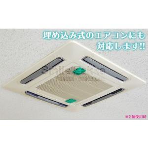 新商品 エアコン用 BIOのカビバリア エアコン カビ きれい キレイ カビ防止 臭い ニオイ メール便対応|sumairu-com|05