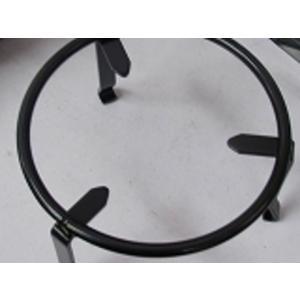 五徳 3脚 鉄、黒、直20cm火鉢の大きさに合わせてください備長炭500g付|sumi-kurasishop