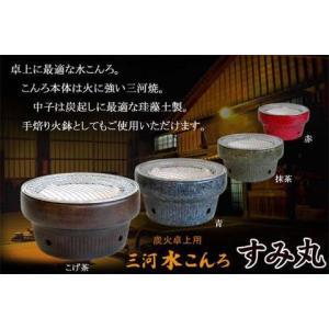 三河水こんろすみ丸抹茶B17|sumi-kurasishop