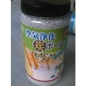 空気浄化炭ボ−ル(白)|sumi-kurasishop