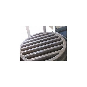 ロストル 28cm 鋳物丸 交換用 火起こし器底、建築用 sumi-kurasishop