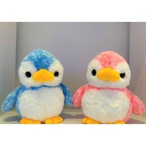 すみだ水族館 アストラ ペンギン ぬいぐるみ M (ブルー/ピンク) sumida-aquarium