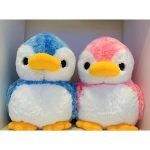すみだ水族館 アストラ ペンギン ぬいぐるみ LL (ブルー/ピンク) sumida-aquarium
