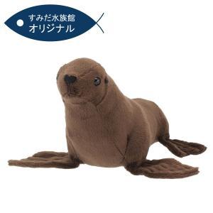 すみだ水族館 オリジナル ミナミアメリカオットセイ ぬいぐるみ Sサイズ|sumida-aquarium