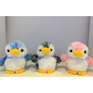 すみだ水族館 アストラ ペンギン ぬいぐるみ SS(ブルー/ピンク/グレー) sumida-aquarium