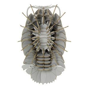 すみだ水族館 3Dペーパーパズル ダイオウグソクムシ グレー メール便対応可|sumida-aquarium|03