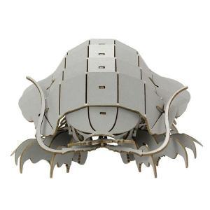 すみだ水族館 3Dペーパーパズル ダイオウグソクムシ グレー メール便対応可|sumida-aquarium|04