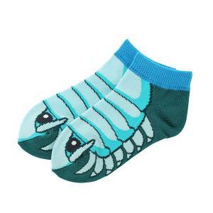 すみだ水族館 キッズソックス  ダイオウグソクムシ 子ども用 靴下 深海生物 メール便対応可|sumida-aquarium