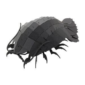 すみだ水族館 3Dペーパーパズル ダイオウグソクムシ ブラック メール便対応可|sumida-aquarium