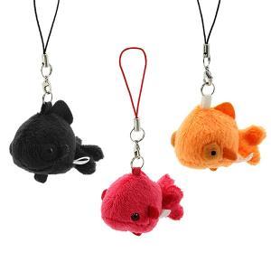 すみだ水族館 ムニュマム 金魚 ストラップ ぬいぐるみ 全3種|sumida-aquarium