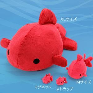 すみだ水族館 ムニュマム 金魚 ストラップ ぬいぐるみ 全3種|sumida-aquarium|09