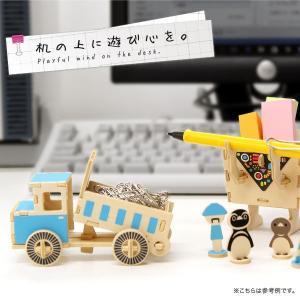 すみだ水族館 オリジナル プレイデコ 木製パズル ブラウニー タイプ ペンギン ロボット|sumida-aquarium|02