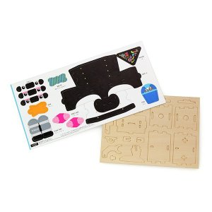 すみだ水族館 オリジナル プレイデコ 木製パズル ブラウニー タイプ ペンギン ロボット|sumida-aquarium|04