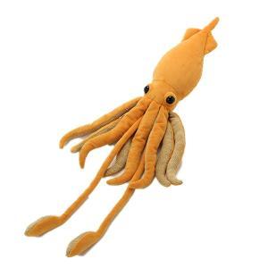すみだ水族館 ダイオウイカ ブラウン ぬいぐるみ  深海生物|sumida-aquarium