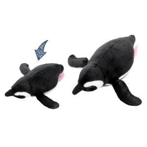 すみだ水族館 オリジナル 飼育員監修 スイミング マゼランペンギン ぬいぐるみ Sサイズ|sumida-aquarium|05