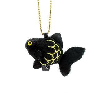すみだ水族館 金魚鈴 デメキン キーホルダー ぬいぐるみ|sumida-aquarium
