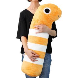 すみだ水族館 ニシキアナゴ 抱き枕 XL クッション|sumida-aquarium|06