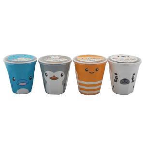 すみだ水族館 クッキーカップ イルカ ペンギン ニシキアナゴ アザラシ (賞味期限:2020年6月30日)期間限定特別価格|sumida-aquarium