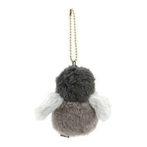 すみだ水族館 フラッフィーズ ペンギン ヒナ ぬいぐるみ キーチェーン グレー|sumida-aquarium|02