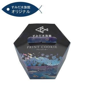 すみだ水族館 オリジナル 六角プリントクッキー (賞味期限:2020年6月30日)期間限定特別価格|sumida-aquarium