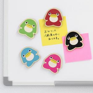 すみだ水族館 オリジナル ペンギン木製マグネット 全5色 メール便対応可|sumida-aquarium|02