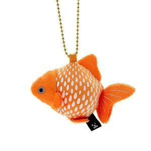 すみだ水族館 金魚鈴 ピンポンパール キーホルダー ぬいぐるみ|sumida-aquarium