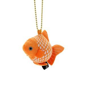 すみだ水族館 金魚鈴 ピンポンパール キーホルダー ぬいぐるみ|sumida-aquarium|02