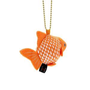 すみだ水族館 金魚鈴 ピンポンパール キーホルダー ぬいぐるみ|sumida-aquarium|03