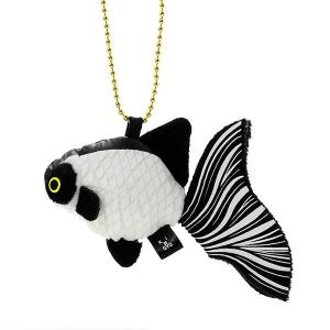 すみだ水族館 金魚鈴 パンダチョウビ キーホルダー ぬいぐるみ|sumida-aquarium
