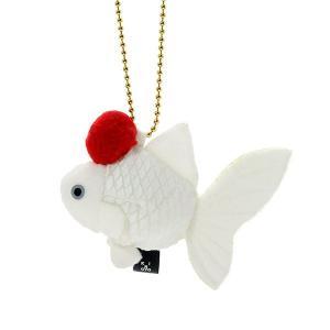 すみだ水族館 金魚鈴 タンチョウ キーホルダー ぬいぐるみ|sumida-aquarium