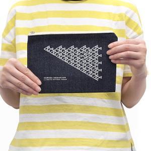すみだ水族館 オリジナル ロゴデザイン フラットポーチ メール便対応可 sumida-aquarium 04