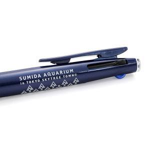 すみだ水族館 オリジナル ロゴデザイン SARASA 3色ボールペン ブルー/ホワイト sumida-aquarium 04