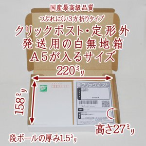 A5サイズ8箱:ゆうパケット.クリックポスト用.白無地ギフト箱.包装用テープ付きOPP袋セット.送料無料(代引き不可) sumidapan
