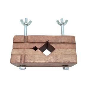 篆刻用 木製印床 一台2役 側款対応|sumimozi