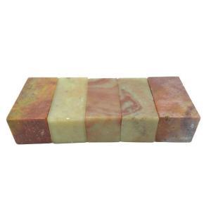 篆刻 印材 紅花凍石 2.5cm/1個 sumimozi