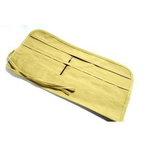 帆布 篆刻刀 彫刻刀 印刀 彫刻刀 収納ケース 10本 sumimozi