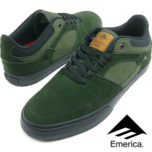 Emerica エメリカ THE HSU LOW VULC (310) GREEN/BLACK メン...