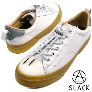 【SLACK(スラック)】 素材:天然皮革 / ラバー 製法:バルカナイズ製法 インソール:カップイ...