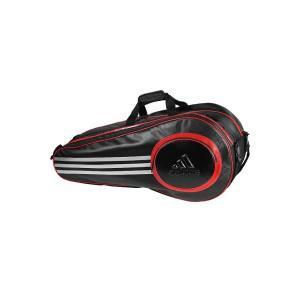 アディダスバトミントン ADIBPRO03 Pro line Double  Thermo Bag (プロラインダブルサーモバッグ)|sumitasports