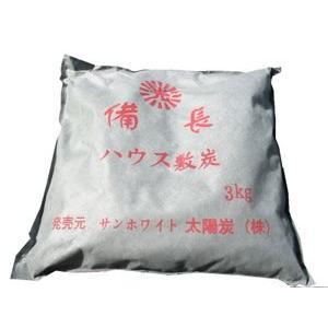 備長炭 木炭 バーベキュー用 ハウス敷炭1袋3kg×16袋|sumiten