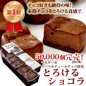スイーツギフトお取寄せの住吉屋の半熟「とろけるショコラ」  ベルギー産のクーベルチュールチョコをつか...