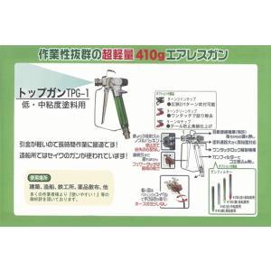 精和産業 エアレス塗装機用 エアレスガン TPG-1 トップガン|summy-net|03