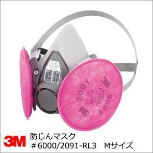 防塵マスク 3M 6000/2091-RL3 取替え式防じんマスク 半面体 summy-net