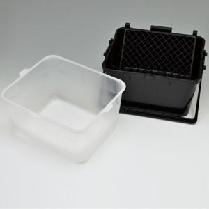 ヨトリヤマ PCローラーバケット SX型 セット (バケット2ヶ ネット5枚 内容器20枚)|summy-net