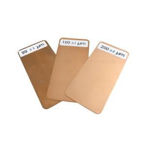 サンコウ電子 電磁式膜厚計用 標準厚板|summy-net